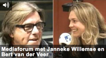 Met Bert van der Veer in het mediaforum