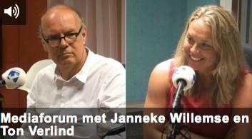Mediaforum met Janneke Willemse en Ton Verlind