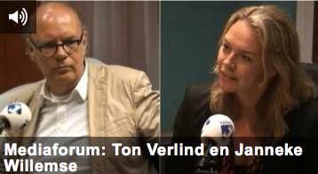 Mediaforum met Ton Verlind en Janneke Willemse