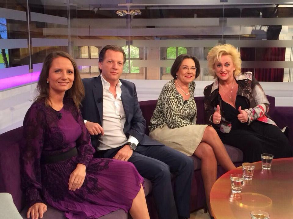 WNL Op Zondag met Fleur Agema, Michiel Mol, Gerdi Verbeet en Karin Bloemen