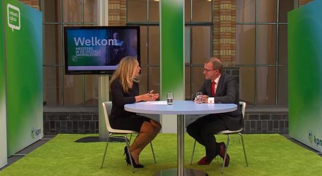 Korte talkshows voor KPN over de digitale samenleving