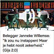 Bij Gijs Staverman: 'Ik zou nu instappen. Maar je hebt nooit zekerheid.'