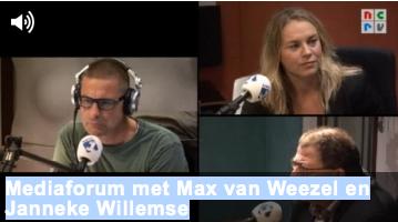 Janneke bij NRCV Lunch met Max van Weezel