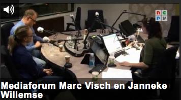 Janneke Willemse te gast in het mediaforum op radio 1