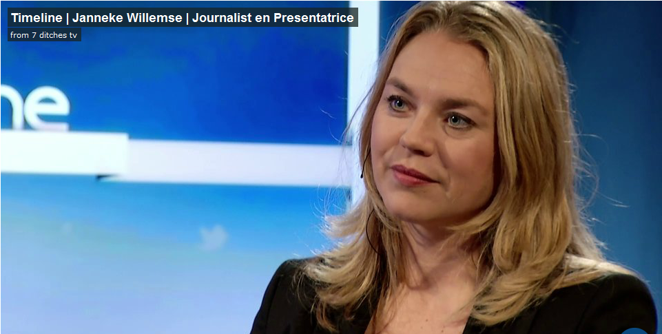 Ronnie Overgoor in gesprek met Janneke Willemse, journalist en presentatrice