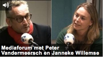 Mediaforum met Peter Vandermeersch en Janneke Willemse