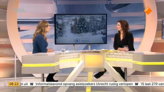 Bij WNL Goedemorgen Nederland – over Davos en de lage olieprijs
