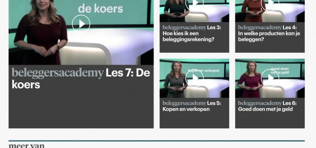 Janneke geeft beleggingsles: de RTL Z Beleggersacademy
